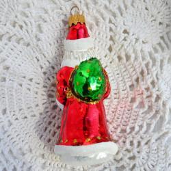 "Елочная игрушка ""Дед Мороз с мешком"" 11*5*5см.нов. арт. 6115 ID4735"
