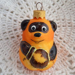 "Елочная игрушка ""Винни Пух с медом"" арт.6081 ID4715"