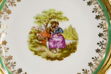 "Тарелка декоративная ""Галантная пара. Барокко"", арт. 2111"