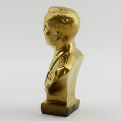 """Бюст """"Гагарин"""" бронза/золото, арт. 2194"""