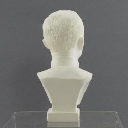 """Бюст """"Дзержинский"""" белый 12,5см. , арт. 2202"""