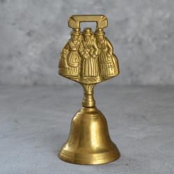 """Колокольчик """"Три девушки"""" латунь, арт. 5934/к"""