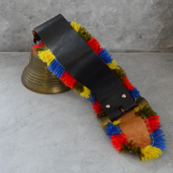 Колокол - рында на ремне Н9*13см., арт. 5941/к