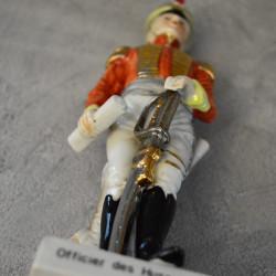 """Статуэтка """"Офицер. Officier des Hussards"""" 23см, арт. 5982/1k"""