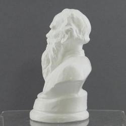 "Бюст ""Толстой"" белый, арт. 2210"