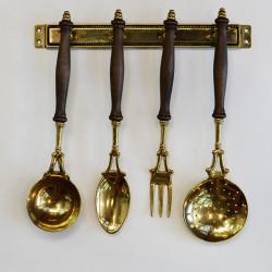 Набор кухонный латунный, арт. 2264