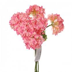 """Цветок искусственный """"Гортензия"""" розовый, 28см, арт. 2999"""