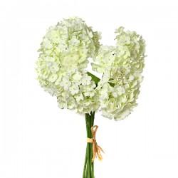 """Цветок искусственный """"Гортензия"""" белый, 28см, арт. 2998"""