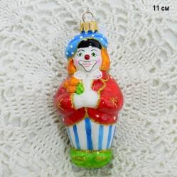 "Елочная игрушка ""Клоун"", арт. 3208 ID3737"