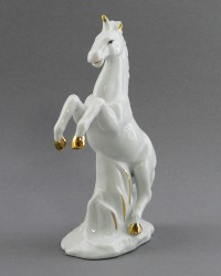 "Статуэтка ""Белый конь на дыбах"" 16см., арт. 2381"