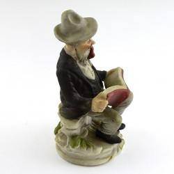 """Статуэтка """"Старик с книгой и трубкой"""" , арт. 2382"""