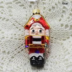 """Елочная игрушка """"Щелкунчик"""" красный, арт. 5260 D3749"""
