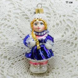 """Елочная игрушка """"Снегурочка"""" новая 1, арт. 5260 ID3753"""