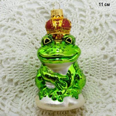 """Елочная игрушка """"Царевна лягушка"""" , арт. 3209 ID3754"""