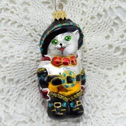 "Елочная игрушка ""Кот в сапогах"", арт. 5260 ID3815"