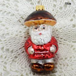 """Елочная игрушка """"Старик Боровик. Гриб"""" красный, арт. 3209 ID4165"""