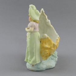 """Статуэтка - ваза """"Девушка у ладьи"""" 13,5см. , арт. 2615"""