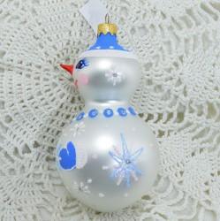 """Елочная игрушка """"Снеговик с носом"""", арт. 5260 ID3784"""