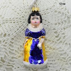 """Елочная игрушка """"Белоснежка с голубыми глазами"""", арт. 5260 ID3790"""