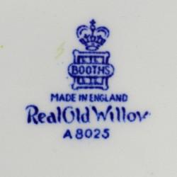 """Тарелка """"Real Old Willow"""" кобальт Ива шинуазри 27см., арт. 2840"""