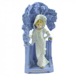 "Статуэтка - ваза ""Девушка в саду"", арт. 2858"