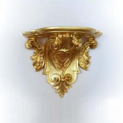 Консоль настенная, золото, h24*29*18см, арт. 2887