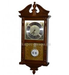 Часы настенные с маятником и мелодией, арт. 2988