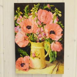 "Картина ""Цветы"" 29*42см, ID 3351"