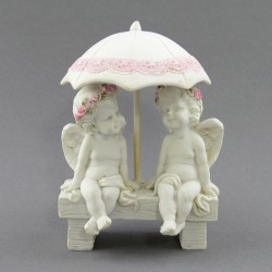 "Фигурка ""Два ангела под зонтом"" коллекция Amore, арт. 3007"