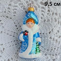 """Елочная игрушка """"Снегурочка в кокошнике"""" снегирь , арт. 3209 ID4484"""