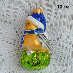 """Елочная игрушка """"Воробей"""", арт. 3209 ID3750/4496"""