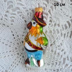 """Елочная игрушка """"Попугай пират"""" арт. 5727 ID4498"""