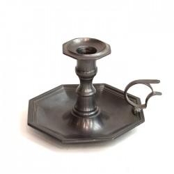 Подсвечник кабинетный из олова, арт. 3048