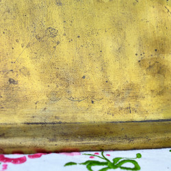 Поднос замочная скважина из латуни, арт. 2058