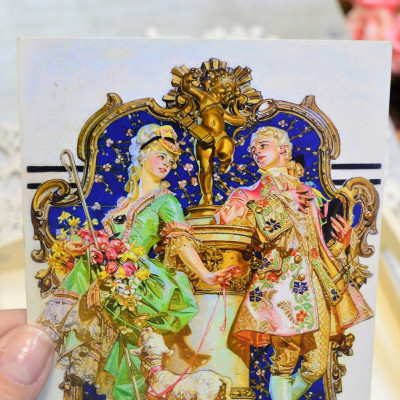 "Ретро открытка ""По мотивам Джозеф Кристиан Лейендекер"", арт. 3137/4639"