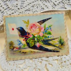 "Ретро открытка ""Поздравляю"", арт. 3137/4646"
