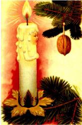 """Ретро открытка """"С Новым годом"""", арт. 3137 (ID1079)"""