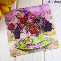 "Ретро открытка ""Букет"", арт. 3137 (ID3005)"