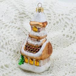 "Елочная игрушка ""Домик. Терем"", арт. 5261 ID4249"