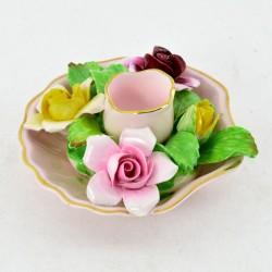 """Подсвечник """"Фарфоровые цветы"""", арт. 3192"""