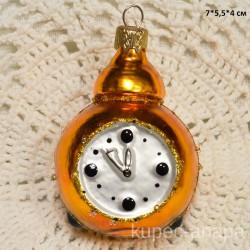 """Елочная игрушка """"Часы"""" арт. 3208 ID4273"""