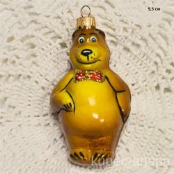 """Елочная игрушка """"Медведь. Маша и медведь"""" светлый арт. 3208 ID4277"""