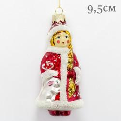 """Елочная игрушка """"Снегурочка"""", арт. 3208 ID2104"""