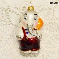 "Елочная игрушка ""Слон"", арт. 3209 ID4191"