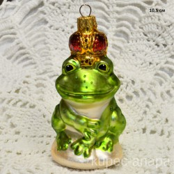 "Елочная игрушка ""Царевна лягушка"" светлая арт. 3209 ID4278"