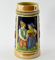 """Кружка пивная """"Охотник с женой"""", арт. 3306"""