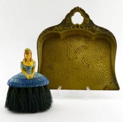 """Щетка для стола с совочком """"Дама с фруктами"""", арт. 3355"""