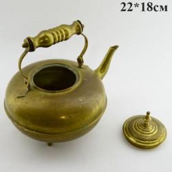 Чайник латунный на ножках 1,5л., арт. 3402