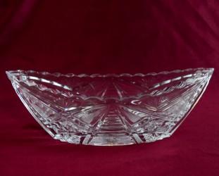 """Хрустальная ваза для стола """"Ладья"""", арт. 3409"""