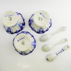 Креманка с ложечкой, 1шт., арт. 3518
